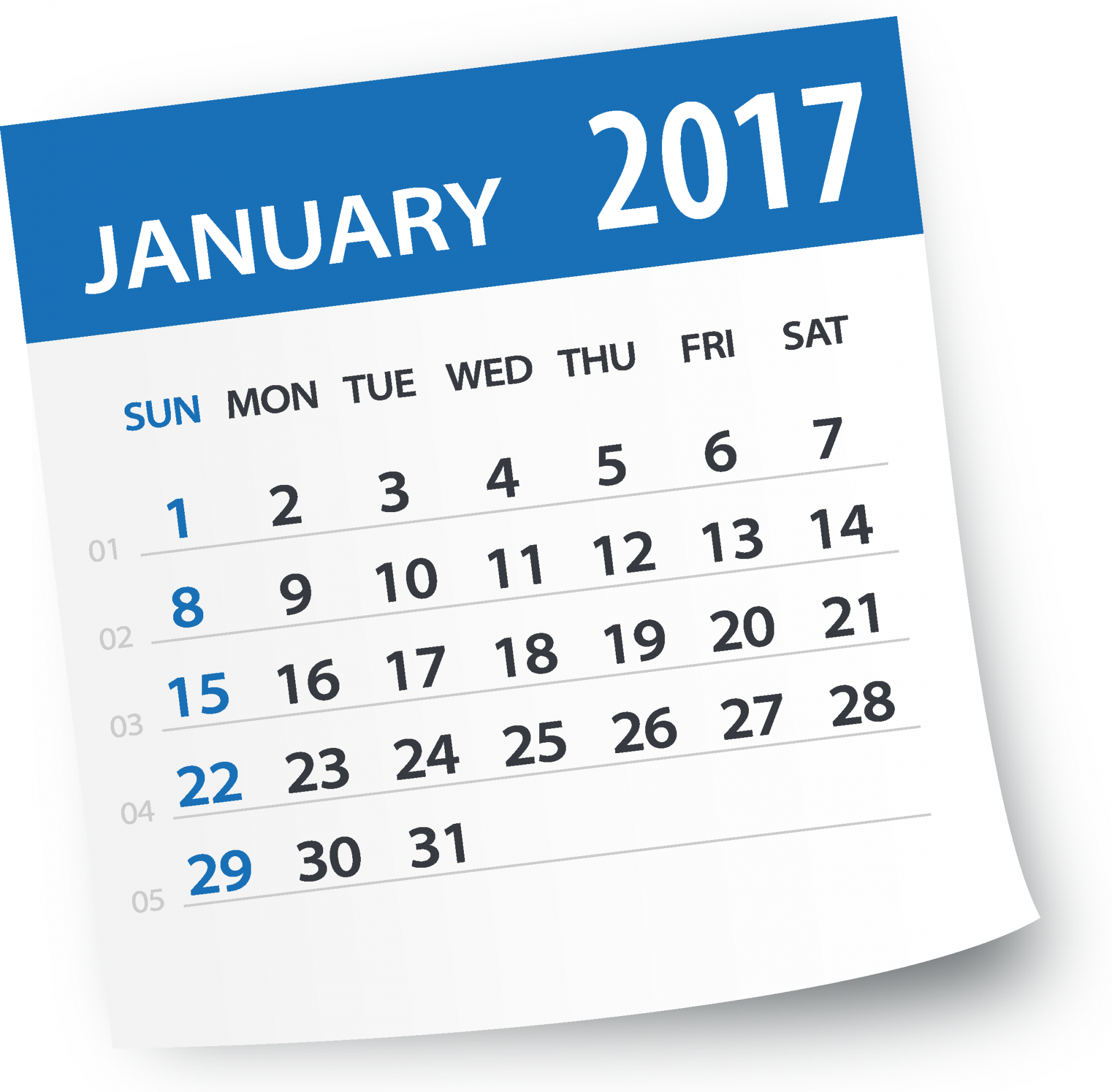 2017 Calendar - Washington DC Public Relation Firm