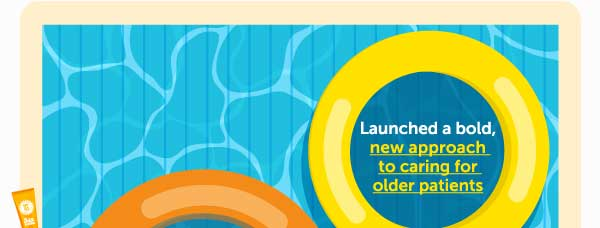Launched a bold new approach to caring for older patients